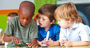 three-kindergartners